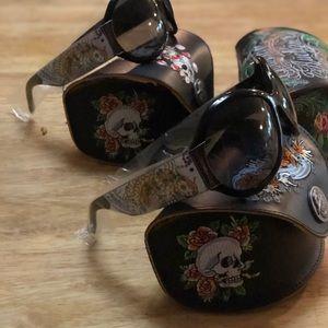 Ed Hardy vintage sunglasses